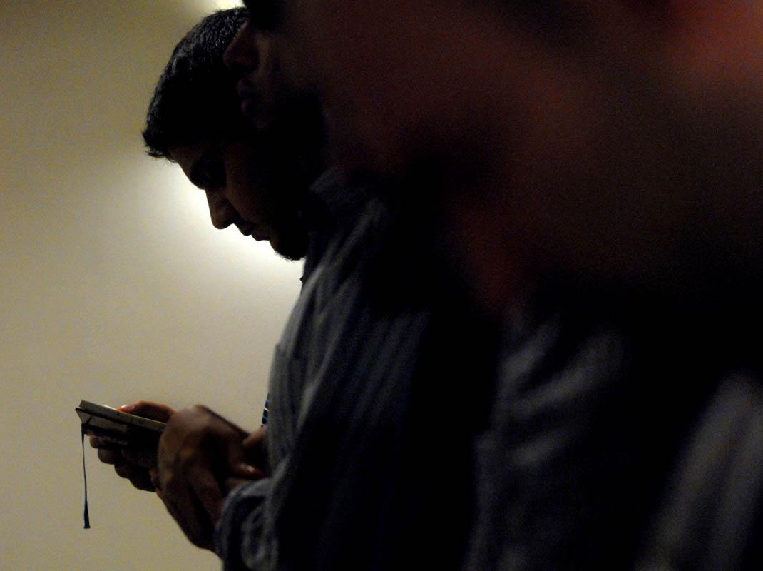 Praying Muslims In USA