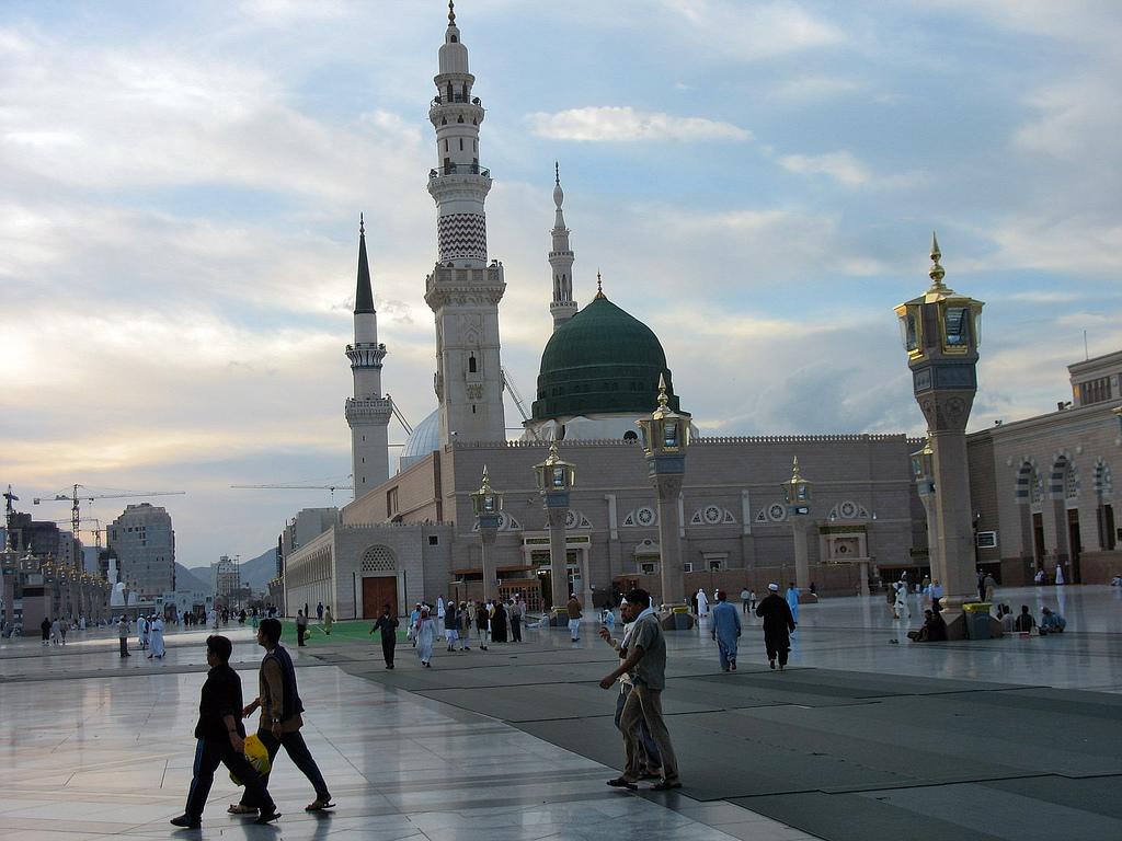 Medina during Umrah